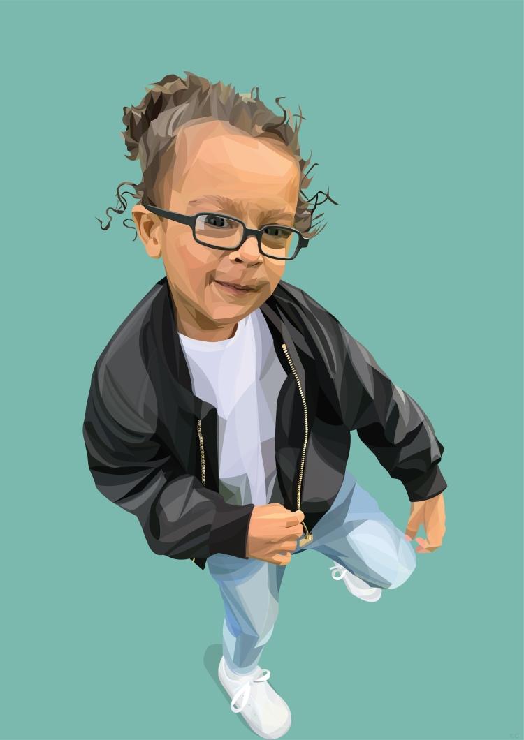 Portrait child for web